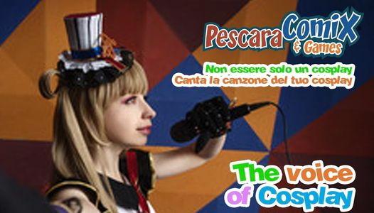Pescara Comics Voice of cosplay